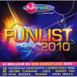 FUNLIST BY FUN RADIO   Compilation (2CD)   Achat CD COMPILATION pas