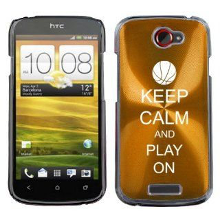 Gold HTC One S 1S Aluminum Plated Hard Back Case Cover M57