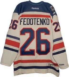 Fedotenko New York Rangers Winter Classic Jersey Sports