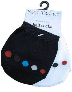 com Peda Bella Womens Toe Toppers Socks, BLACK, Womens 6 12 Shoes