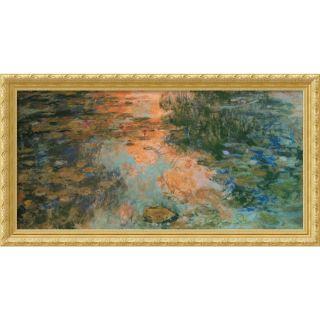 Claude Monet The Water Lily Pond, 1917 19 Framed Art Print Today $