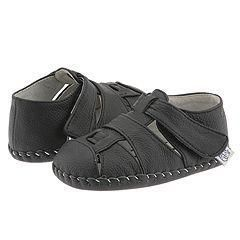 pediped Harvey (Infant/Toddler) Black(Size Extra Small (0 6 Months) M