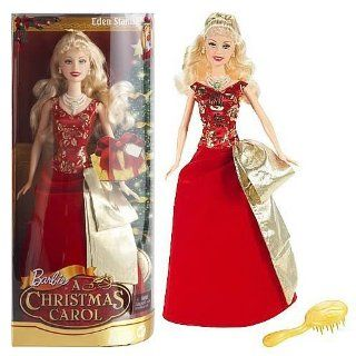 Barbie In A Christmas Carol   Red Dress Toys & Games