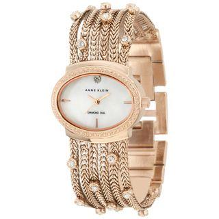Anne Klein Womens Rose gold Brass Steel Watch
