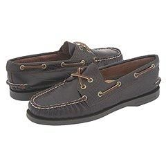 Sperry Top Sider A/O 2 Eye Brown Croc Oxfords