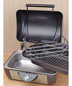 Rival BB200 Black/ Stainless Steel Crockpot BBQ Pit