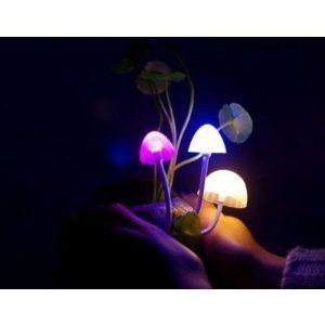 Solar Mushroom Lamp   Avatar Plant Flowers Night Light