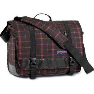 plaid messenger bag   Clothing & Accessories