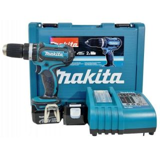 PERCEUSE   VISSEUSE MAKITA Perceuse visseuse percussion 2x14,4V Li Ion