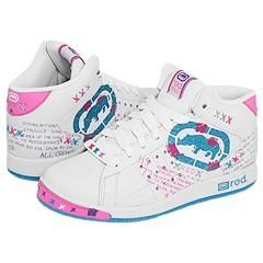 Red by Marc Ecko Phavorite White/Blue/Hot Pink Athletic