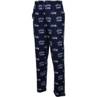 NFL Seattle Seahawks Supreme Mens Knit Pants, Navy, Small