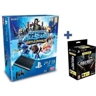 PS3 SLIM 12 GO ALLSTARS+ OREILLETTE+ COD BLACK OPS   Achat / Vente