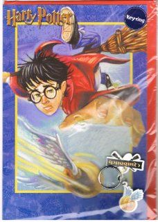 Harry Potter Quidditch Birthday Card with Quidditch