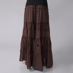 Cute Options Womens Tiered Skirt