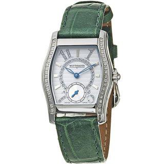 Wittnauer Belasco Womens Leather Strap Watch