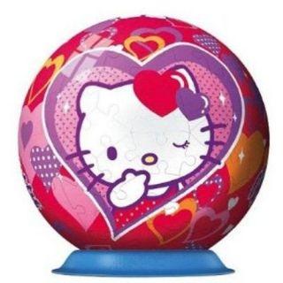 Ravensburger   Un puzzleball 108 pièces sur le thème de Hello Kitty