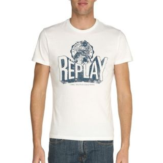 REPLAY T Shirt Homme Gris chiné   Achat / Vente T SHIRT REPLAY T
