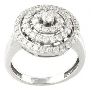14k White Gold 1ct TDW Diamond Ring (H I, I1)