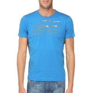 DIESEL T Shirt Jemat Homme Bleu   Achat / Vente T SHIRT DIESEL T Shirt