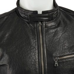 Kenneth Cole New York Mens Leather Jacket