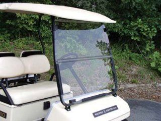 Windshield, Yamaha Golf Cart G2/G9, Fd, Clear, 1/4