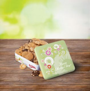 Mrs. Fields Happy Mothers Day Nibblers Cookie Tin