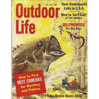 1960 Outdoor Life July I Take Brown Bears Alive;Jaguars