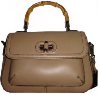 Womens Etienne Aigner Genuine Leather Satchel Style