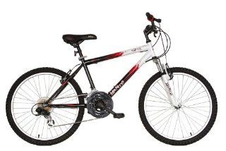 Mantis Raptor Boys 24  Inch Bike, White/Black Sports