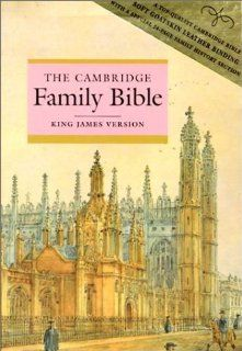 KJV Cambridge Family Bible (Pres Ref Ed with Family History pages