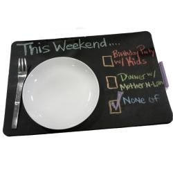 Chalkboard Large Rectangle Placemats (Set of 4)