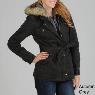 Buffalo Womens Faux Fur Collar Coat Was $79.99 Today $62.99   $79