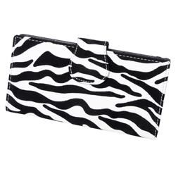 Hailey Jeans Co. Womens Animal Print Clutch Wallet
