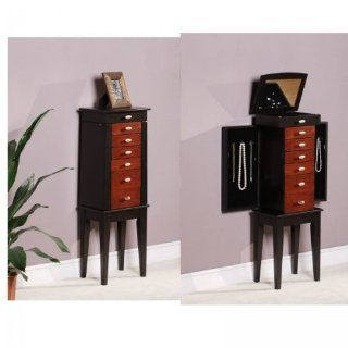 Nathan Direct Sumba Yin Yang 6 Drawer Jewelry Armoire