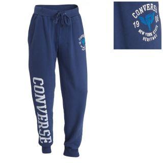 Coloris  bleu nuit. Pantalon de sport Homme  taille élastiquée, 2