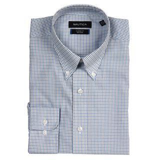 Nautica Mens Non iron Classic Fit Dress Shirt