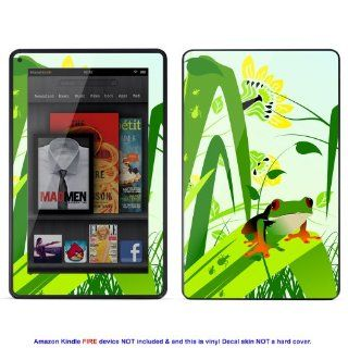 Skin sticker for  Kindle Fire case cover Kfire 172 Electronics