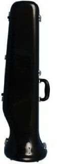 Fibreglass Trombone Case, Gloss Black CE 176 B Musical Instruments