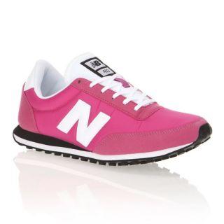 Modèle 410. Coloris  rose, blanc et gris. Baskets NEW BALANCE Femme
