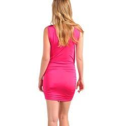 Stanzino Womens Fuschia Evening Party Dress