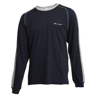 CHAMPION T Shirt Homme Marine et gris   Achat / Vente T SHIRT CHAMPION