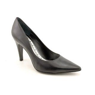 BCBGirls Notte Wide Pumps Heels Shoes Black Womens