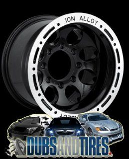 15 Inch 15x10 Ion Alloy wheels STYLE 174 Black wheels rims :