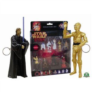 Star Wars Coffret de 9 personnages Porte Clés   Achat / Vente