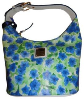 Womens Dooney & Bourke Purse Handbag Bucket Bag Blue