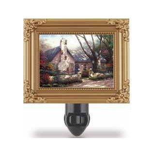 Thomas Kinkade Morning Glory Cottage Nightlight (21442