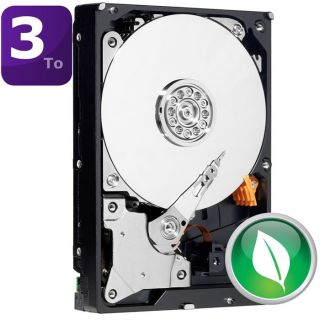 WD Green 3To 64Mo 3.5   Achat / Vente DISQUE DUR INTERNE WD Green 3To