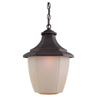 Sea Gull Lighting 1 light Rust Patina Outdoor Pendant Today $74.49 4