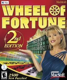 Wheel Of Fortune 2nd Edition (Mac) Video Games