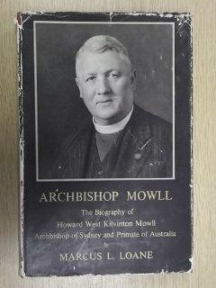 Archbishop Mowll Marcus L. LOANE Books